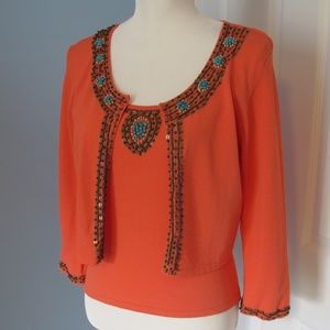 Michelle Nicole camisole top with jacket Size - M